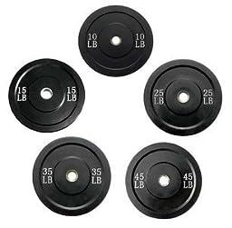 Wright Bumper Plates - 260 lb Set - Great Crossfit & Olympic Lifting