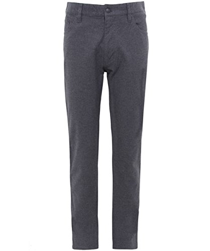 Hackett Men's Regular Fit Trinity Flannel Trousers Gray 34R (Hackett Clothing compare prices)