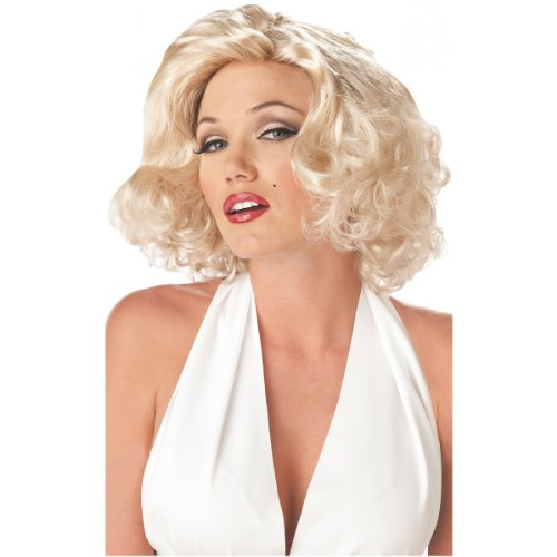 Sexy Marilyn Monroe Wig Costume Accessory