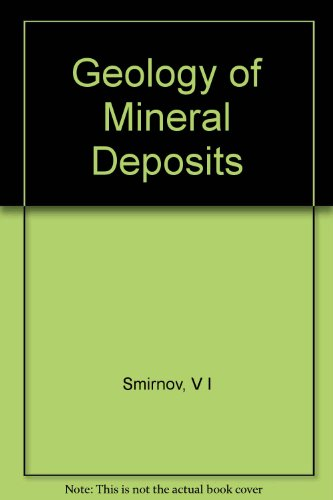 Geology of Mineral Deposits PDF