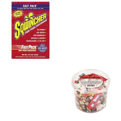 Kitofx00013Sqw015305Fp - Value Kit - Sqwincher Corp Fast Pack Drink Package (Sqw015305Fp) And Office Snax Soft Amp;Amp; Chewy Mix (Ofx00013)