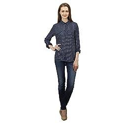 Women's Simple Blue Shirt