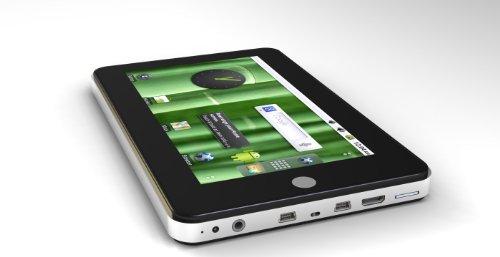 Android アンドロイド タブレットPC 「OS:2.2 ファームウェア:2.2 CPU:Samsung 1GHz A8 Cortex メモリー:512MB ハードディスク:4GB「大容量」 液晶:7吋静電式タッチパネル」