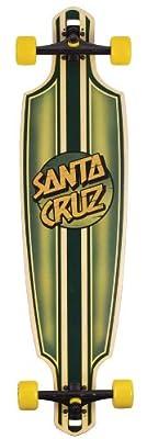 Santa Cruz Skate Squire Drop Thru Cruzer Skateboard (9.6 x 37.8-Inch)