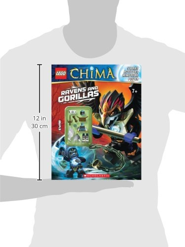 Lego Legends of Chima: Ravens and Gorillas (Activity Book #3)