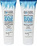 Not Your Mothers Beach Babe Moisturizing Shampoo 8 Oz. + 8 Oz. Conditioner (Combo Deal)