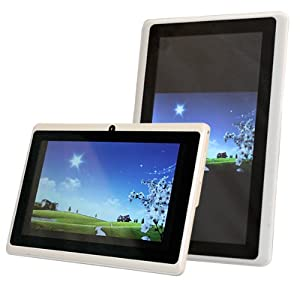 """AGPtek® 7"""" Android 4.0 Capacitive Touch Screen E-reader Tablet PC (Wi-Fi, G-Sensor, 1GHz, 512M DDR3, Support 3G 3D Game 1080P Flash 11.1, 4GB Built-In Storage With Expandable Micro SD Card Slot)"""
