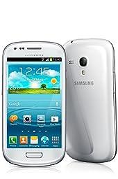 Samsung Galaxy S3 Mini GT-i8200 Factory Unlocked Cellphone,  International Version, 8GB, White