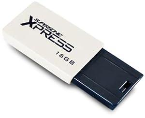 Patriot 16GB Supersonic Xpress Series Cap-less USB 3.0 Flash Drive - PSF16GXPUSB