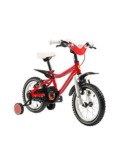 """SCUDERIA FERRARI Bicicletta Kid Racing 16"""" Rosso"""