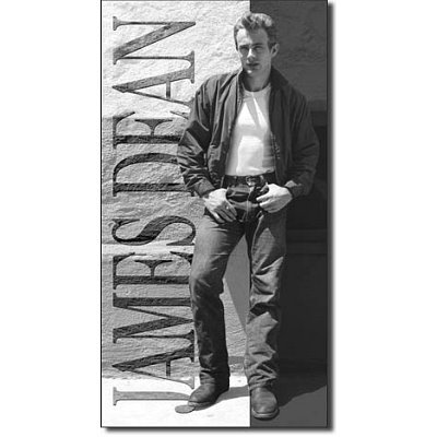 James Dean Rebel Movie Retro Vintage Tin Sign - 9x16