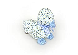 Teddykompaniet Duck Rattle Blue (Anka m. Skallra) 5003-B