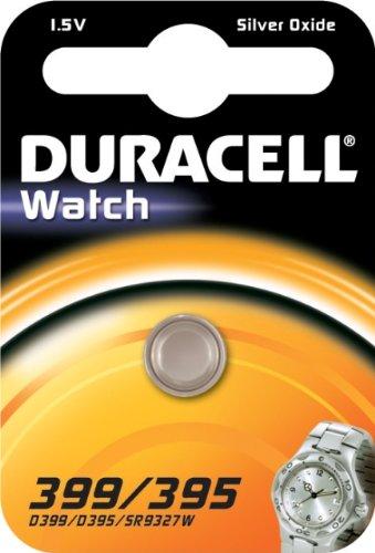 """DURACELL Blister de 1 Pile oxyde argent spéciale montres """"Watch"""" 399/395 SR57"""