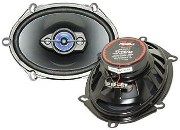 sony xplod xs t5743 5x7 or 6x8 190 watt each 4 way car amazon in sony xplod xs t5743 5x7 or 6x8 190 watt each 4 way car speakers
