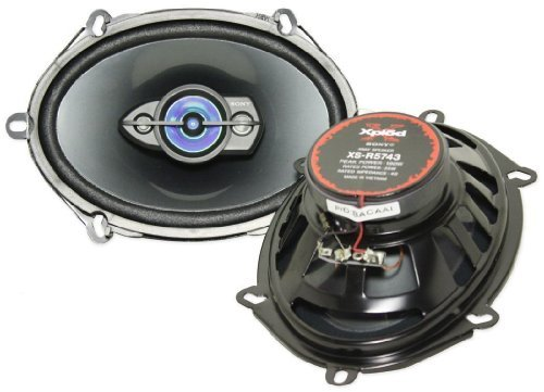 Sony Xplod Xs-T5743 5X7 Or 6X8 190 Watt Each 4 Way Car Speakers