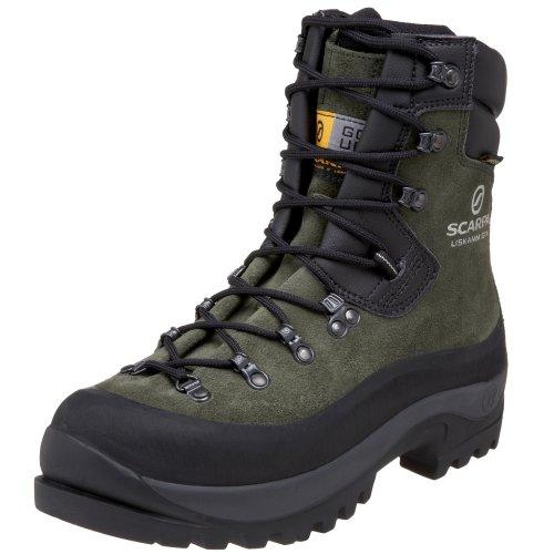 SCARPA Men's Liskamm GTX Mountaineering Boot,Forest,44 EU (US Men's 10 1/2 M)
