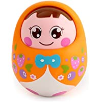 Wishtime Lovely Nodding Doll Tumbler Push And Pull Toy