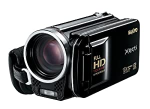 Sanyo VPC-FH1A Full HD Video and 8 MP Digital Photos (Black)