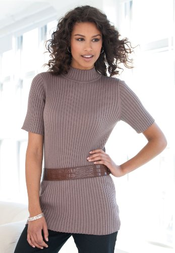 jessica london. Softly ribbed cotton cardigan two-way zip front to wear alone or as a great layer. It's designed to flatter your curves in a classic shape you can easily wear as a relaxed top layer unzipped, and as a more fitted top, when zipped up.