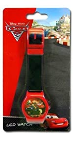 Disney Cars 2 Digital LCD Watch For Kids