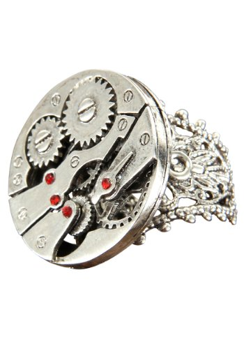 Elope Standard Watch Gear Ring, Silver