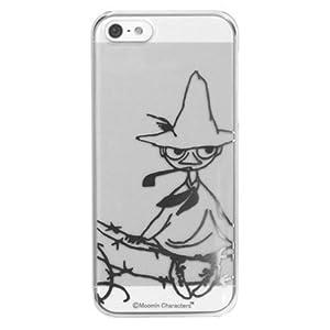 ムーミン iPhone5ケース クリア仕様 スナフキン/ハードタイプ