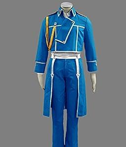 Relaxcos Fullmetal Alchemist Roy Mustang Cosplay Costume