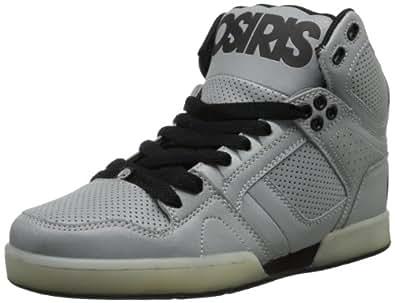 Osiris NYC 83 21018010, Herren Sneaker, Silber (Silver/Silver/Blac k), EU 45 (US 11)