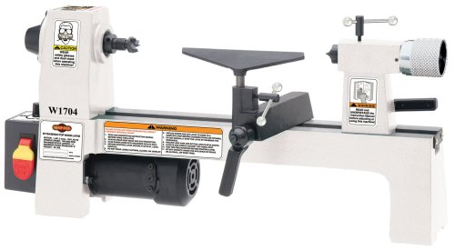 Link to SHOP FOX W1704 1/3-Horsepower Benchtop Lathe