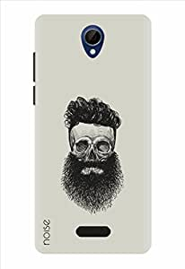Noise Designer Printed Case / Cover for Gionee Marathon M4 / Quotes/Messages / Beard Illustrations