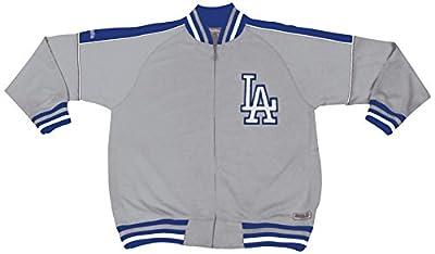 MLB Los Angeles Dodgers Contrast Shoulder Track Jacket