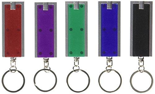 Vibe Mini Led torcia portachiavi - dozzina di (i colori possono variare)