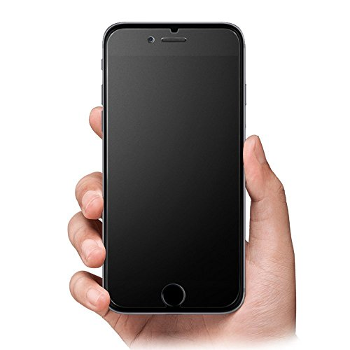 iPhone 7 Screen Protector Matte Anti-Glare & Anti-Fingerprint 9H HD Clear Tempered Glass Film Smooth as Silk (iPhone 7)