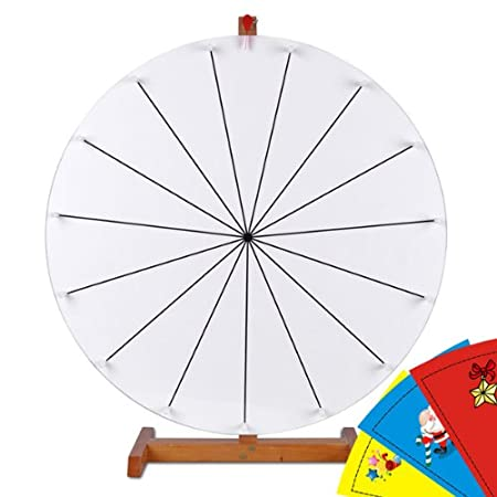 Prize Wheel Template 24 Inch