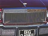 E&G Glassics 1982-1990 Chevrolet Caprice Classic Silver Grille 1026-0101-82