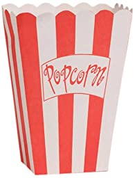 Creative Converting Lights, Camera, Action!  Popcorn Boxes, 8-Count