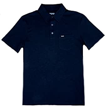 Michael Kors Mens Mk Metal Logo 100 Cotton Polo Shirt