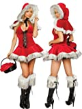 J Valentine Lil Red Riding Hood 3 Piece Costume Picture