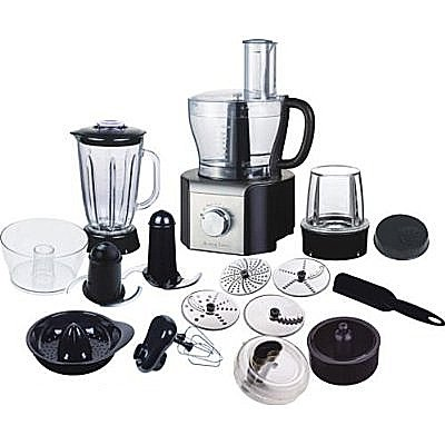Andrew James Multifunctional Food Processor with Blender Jug and Attachments from andrew james
