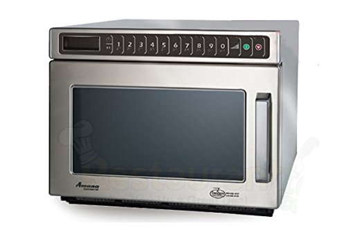 Amana Commercial Digital Microwave .6 Cft Countertop 2100 Watt Heavy Volume Model Hdc212
