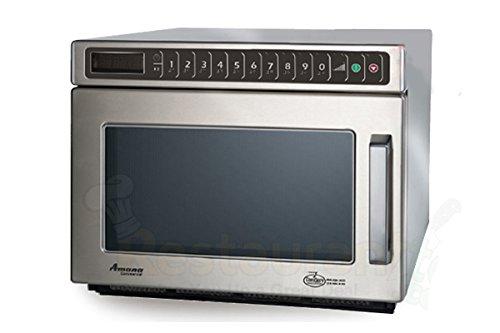 Amana Commercial Digital Microwave .6 Cft Countertop 2100 Watt Heavy Volume Model Hdc212