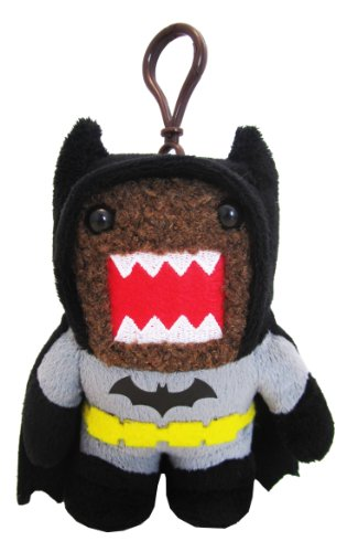 Domo Batman Clip On Plush, Black - 1