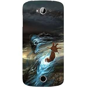 Casotec Ghost In Darkness Design Hard Back Case Cover for Acer Liquid Z530