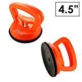 BinTEK 4.5 inch Premium Suction Cup for Heavy Duty Dent Pulling and Heavy Glass Lifting, ULTRA STRONG