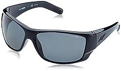 Arnette Mens Sunglasses AN4215 Plastic Gloss Black