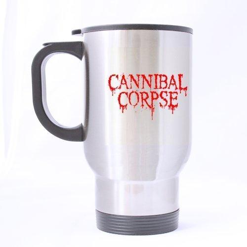 Generic Funny Cannibal Corpse Bloody caratteri pattern personalizzata in acciaio inox speciale design casa viaggio tazza
