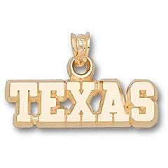University of Texas Texas 1 4 - 14K Gold by Logo Art