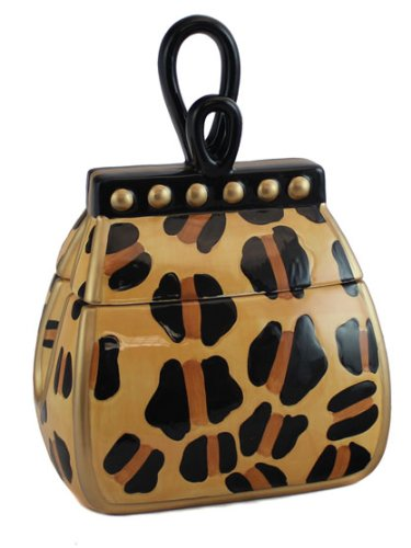 Ceramic Handbag Cookie Jar