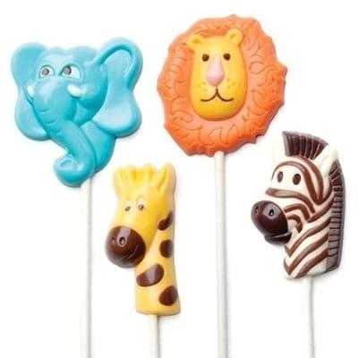 Make N' Mold Dress My Cupcake Safari Animals Candy Mold
