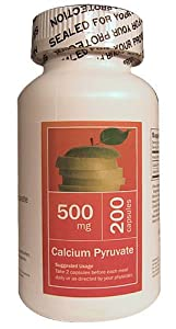 All Nature Calcium Pyruvate 500 Mg 200 Caps by All Nature